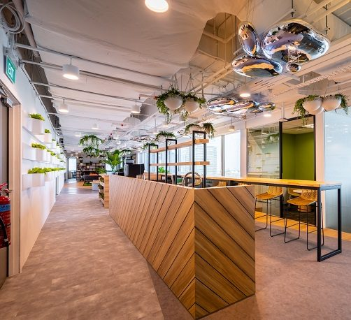 Hot Desk Lite office space for rent Singapore