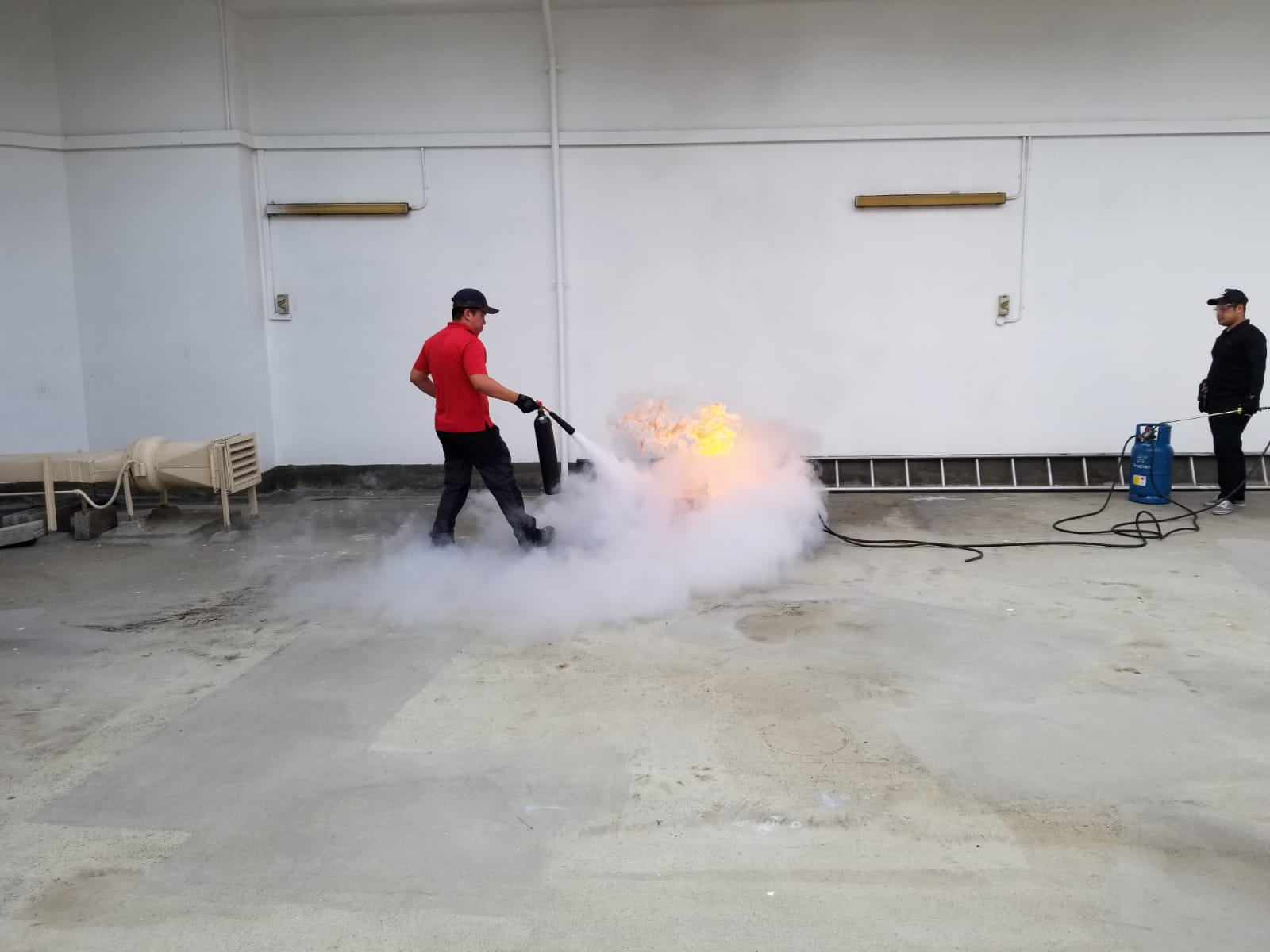 Odeon Towers Extinguisher Training