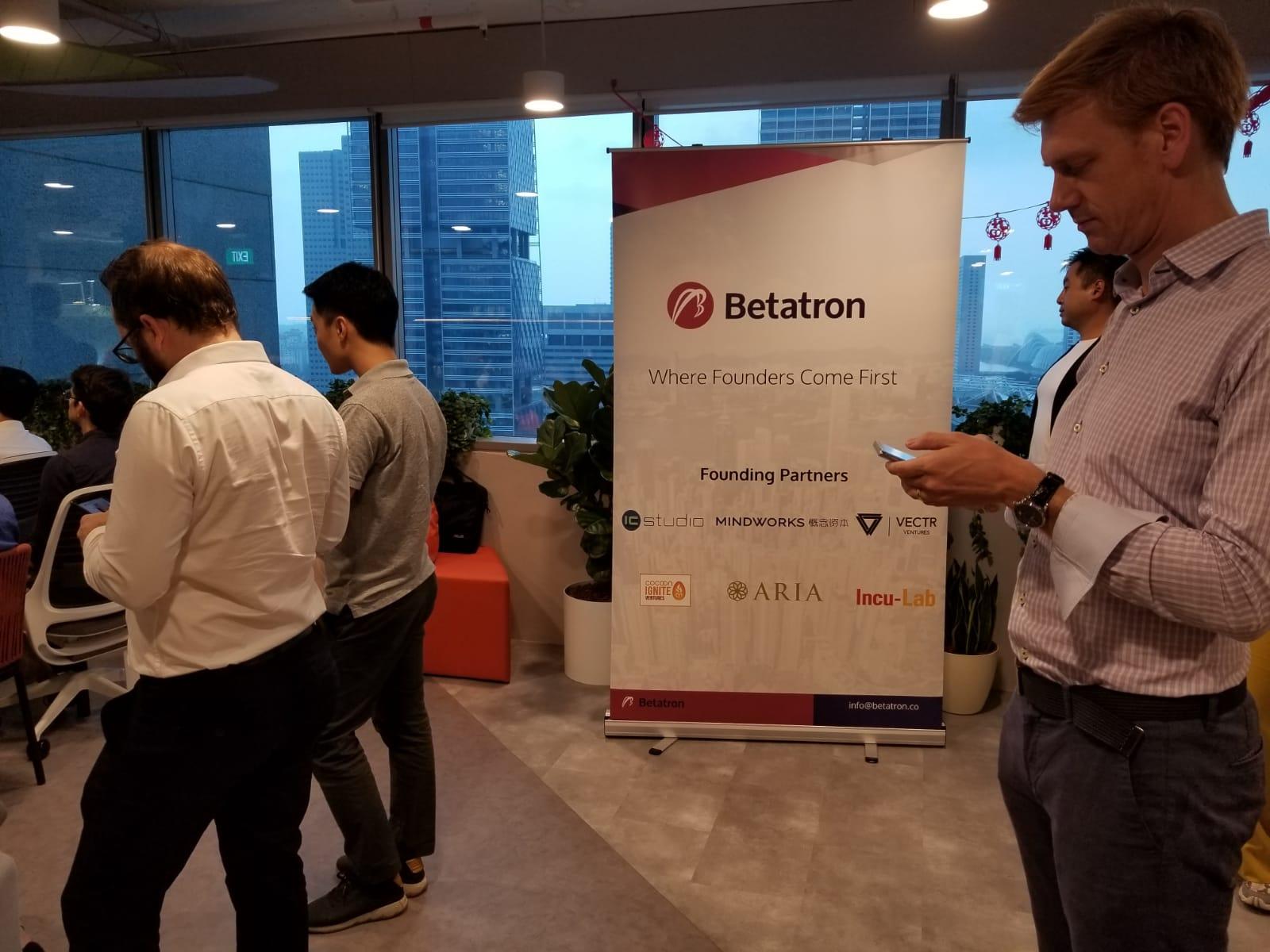 Betatron in Singapore: Meet the Team & Startup Alumni